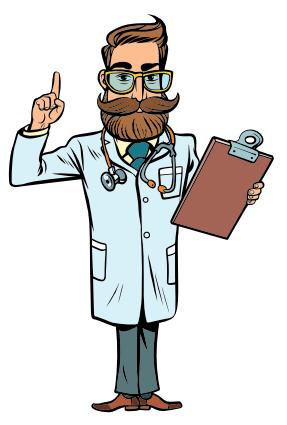illustration d'un docteur