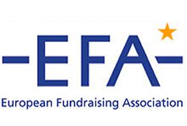 Logo EFA association européenne du fundraising
